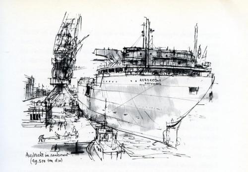 Avedrecht in afbouw 1963