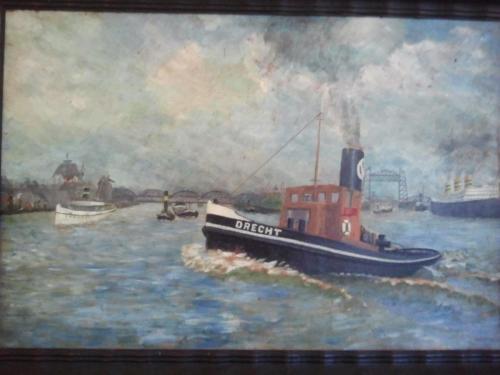 VO Sleepboot Drecht 1947