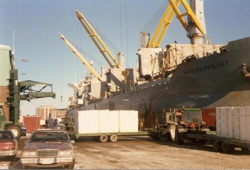 Stawoensdrecht pulp laden West USA