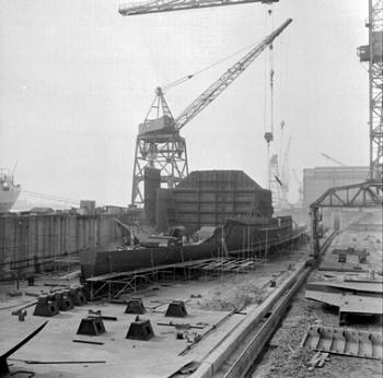 Holendrecht (3) in aanbouw bij WF Schiedam