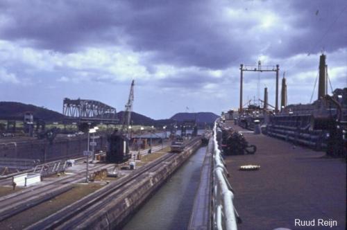 Sliedrecht (4a) in Panamakanaal