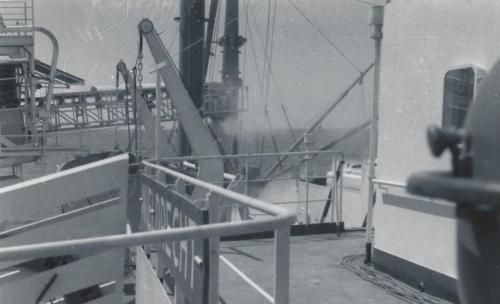 25 Nov. 1967 fosfaat laden in Nauru