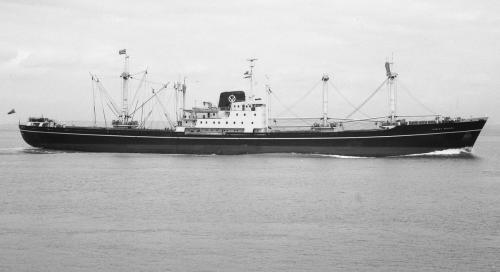 HURLEY BEACON passing Portishead 8th June 1966 inbound