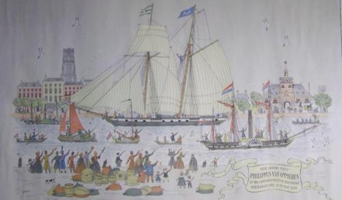 Start Phs.van Ommeren 1839