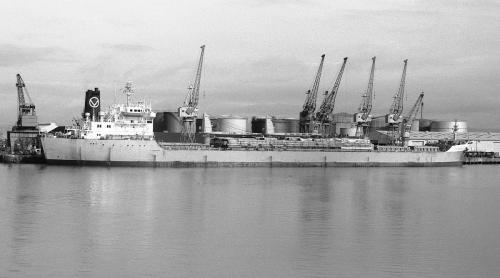Kieldrecht (5) at Avonmouth by the late Norman Hesketh