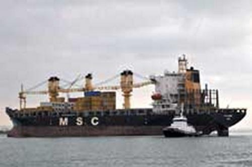 MSC Jasmine Fos 16-11-2009