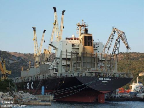 MSC CHIARA Drydock Rijeka 2013