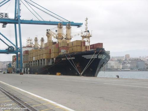 MSC CHIARA juli 2011 Las Palmas