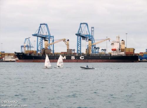MSC JASMINE Las Palmas 8-6-2011