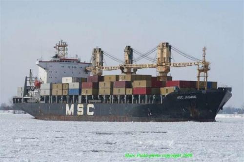 MSC JASMINE februari 2008 st.lawrence (Large) [640x480]