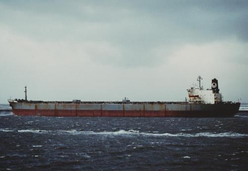 Sliedrecht (5)vertrek IJmuiden op 1-1-1980