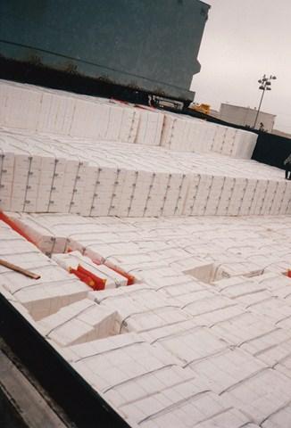 Star Livorno lading papierpulp
