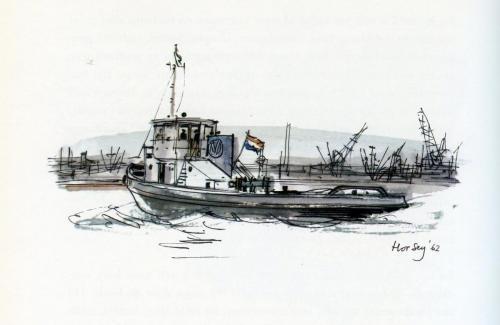VO Sleepboot Horsey 1956