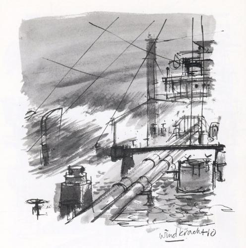 Wieldrecht/Woensdrecht 1944 in storm