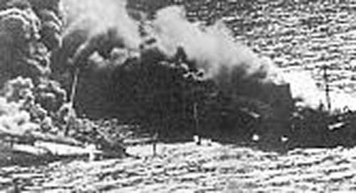 Sliedrecht (3)Zinkend na torpedering