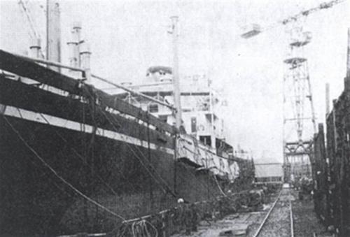 Holsworthy Beacon in dok, naamwisseling Papendrecht.