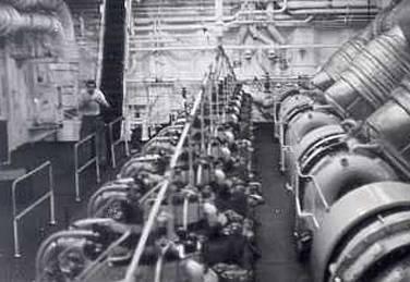 Bovenkant Hoofdmotor 12 cilinders