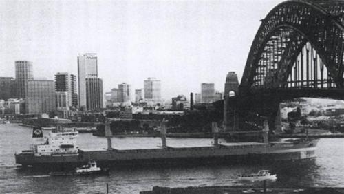 Wieldrecht (4) in Sydney, Austratlië